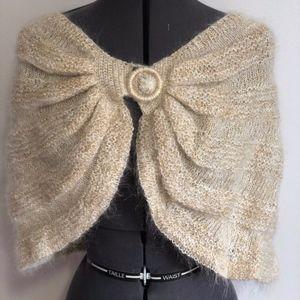 Marciano Wool Cape